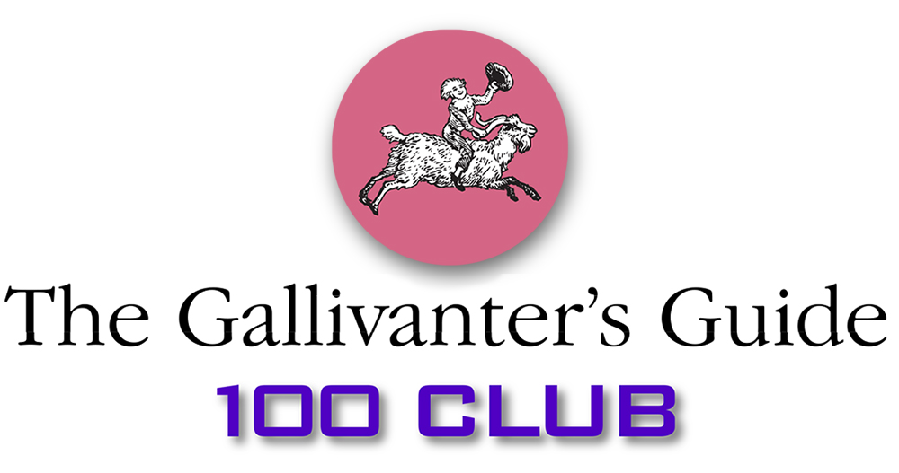 The Gallivanter's Guide 100 Club